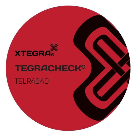 Tegracheck® 40mm Round Total Transfer Labels