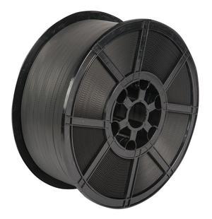 Safeguard® Black 12 x 0.55mm PP Strap, 2000mtr