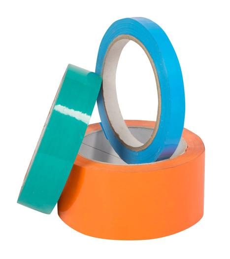 Image for Pacplus® White 12mm Vinyl Packing Tape