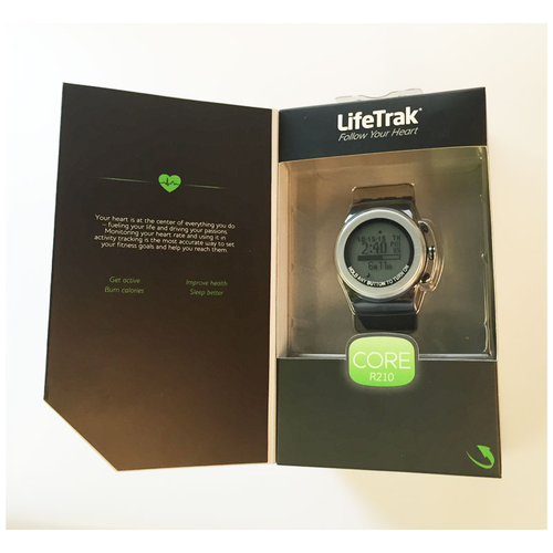 LifeTrak Core R210 Calorie and Heart Rate Activity Tracker Watch