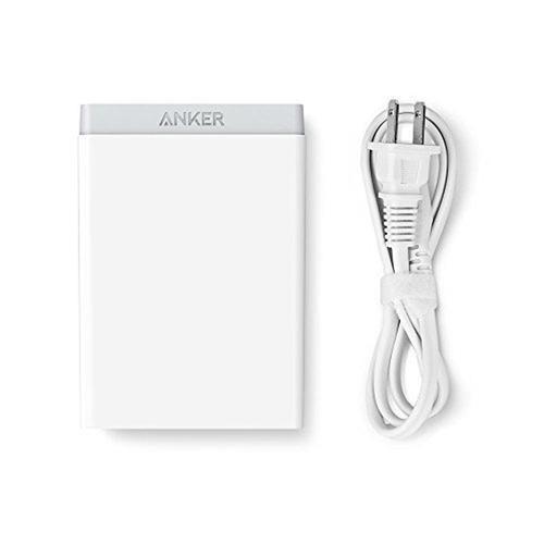Anker PowerPort 6 2.4A USB Desktop Charger - White