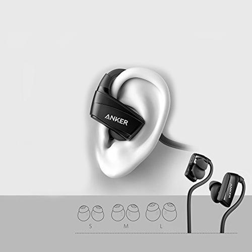 Anker NB10 SoundBuds Wireless Bluetooth Sport Headphones - Black