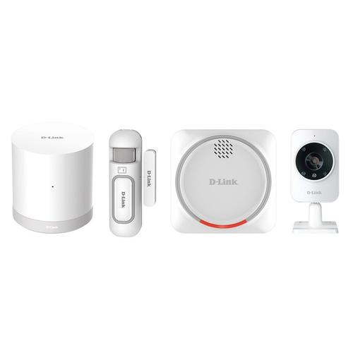 D-Link Smart Home Wireless Security Kit (DCH-107KT) - White