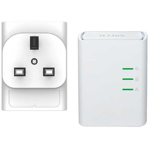 D-Link 500Mbps Powerline Starter Kit - 2 Pack