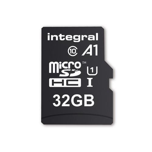 Integral 32GB A1 App Performance Micro SD Card (SDHC) - 45MB/s