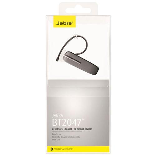 Jabra BT2047 Wireless Bluetooth Headset - Grey