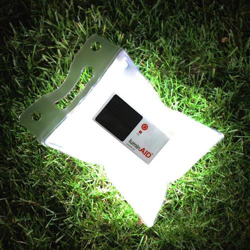 LuminAID PackLite 16 Portable Solar Emergency Solar Lantern