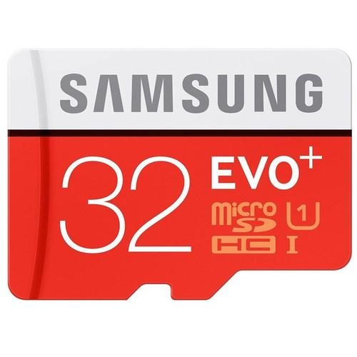 Samsung 32GB EVO Plus Micro SD Card (SDHC) - 80MB/s