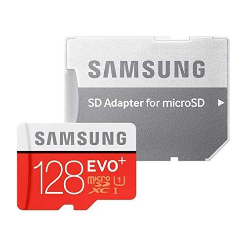 Samsung 128GB EVO Plus Micro SD Card (SDXC) UHS-I U1+ Adapter - 80MB/s