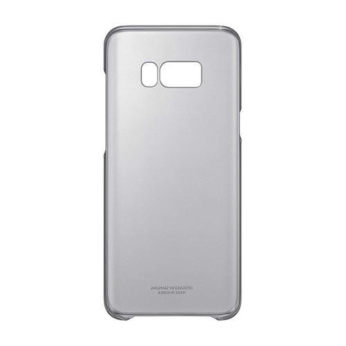 Samsung Galaxy S8 Plus Cover Case - Clear / Black