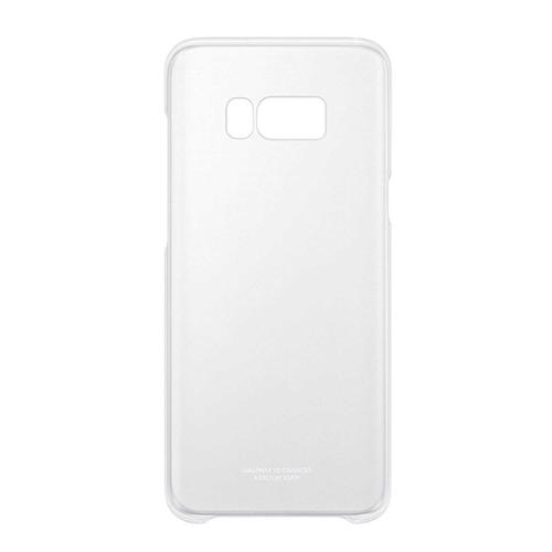 Samsung Galaxy S8 Plus Cover Case - Clear / Silver