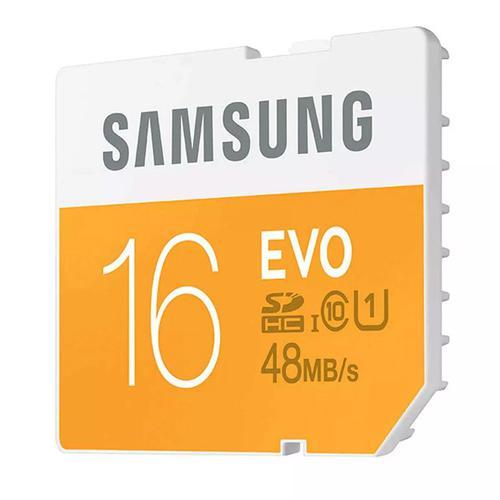 Samsung 16GB EVO SD Karte (SDHC) - 48MBs