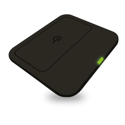 Zens Qi Single Wireless Charger with UK Mains Adapter