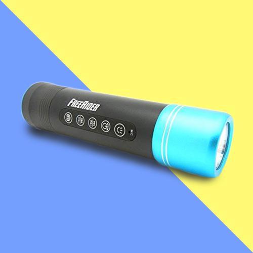 GoXtreme FreeRider Outdoor Wireless Bluetooth Speaker - Ice Blue