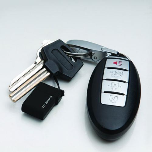 Kingston 16GB DataTraveler Micro USB Flash Drive - Black