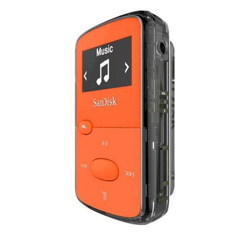 SanDisk Clip Jam 8GB MP3 Player - Orange