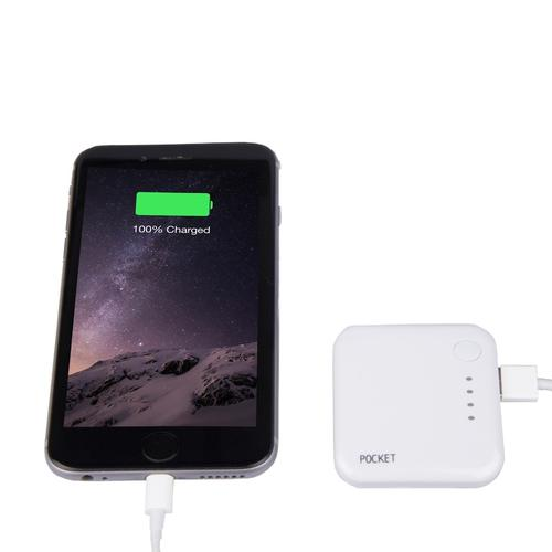 Charge Point Pocket 2000mAh Portable Phone Battery Charger