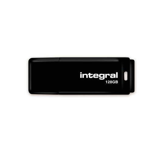 Integral 128GB USB Flash Drive - 12MB/s - Black