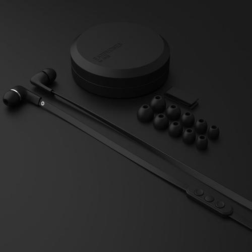 Jays Five In-Ear Headphones for Apple iPhone - Black