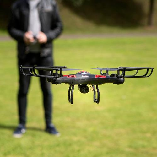 Flying Gadgets X CAM Quadcopter Drone HD Camera