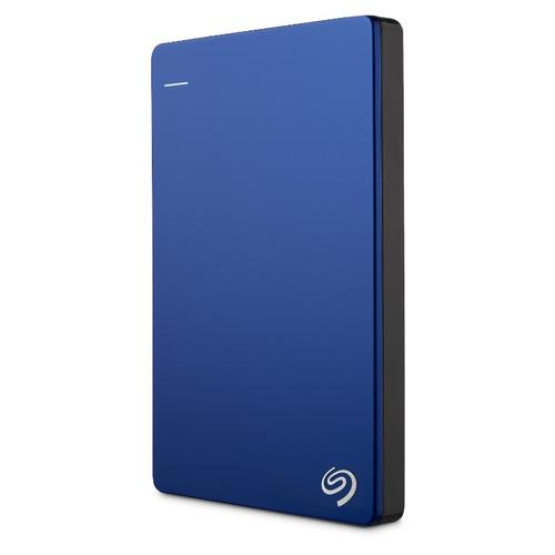 """Seagate Backup Plus 1TB 2.5"""" USB 3.0 Slim Portable HDD Blue"""