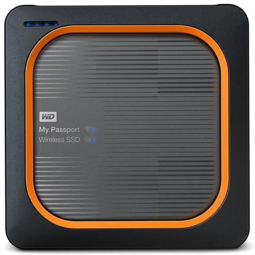 WD My Passport 1TB USB 3.0 Wireless SSD Drive - Black