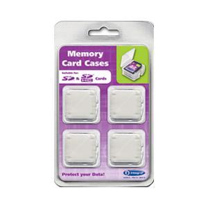 Integral SD & SDHC Kartenetui - 4er Pack
