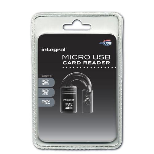 Integral Micro SD USB Card Reader