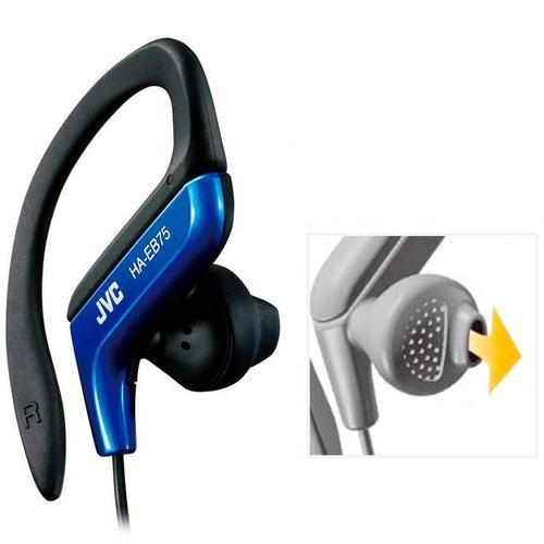 JVC Sports Headphones - Blue (HA-EB75)