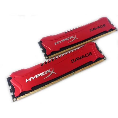 HyperX Savage RED 16GB (2x8GB) Memory Kit 2133MHz DDR3 Non-ECC CL11 240-pin DIMM Unbuffered 1.6V XMP