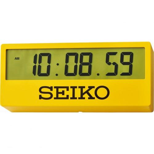 Seiko Countdown Style Sports Timing Clock - Yellow