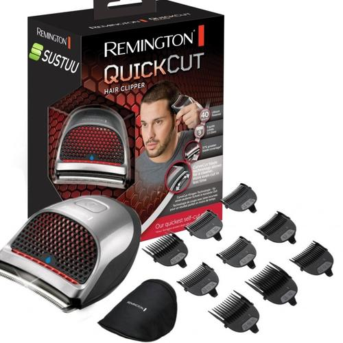 Remington Rechargeable Quick Cut Cordless Clipper (HC4250) + Travel Case