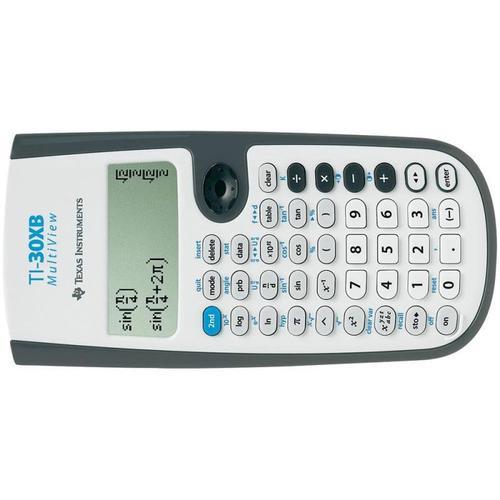 Texas Instruments MultiView Scientific Calculator (30XB)