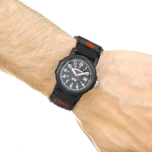 Timex Mens Expedition Camper Analogue Quartz Black Watch (T40011)