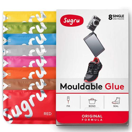 Sugru Mouldable Glue 8 Colours - 8 Pack