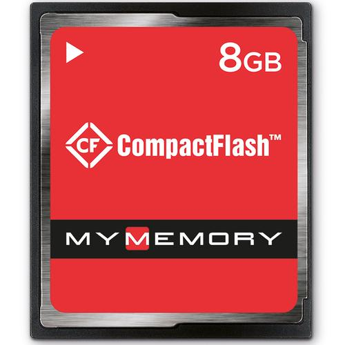 MyMemory 8GB Compact Flash Card