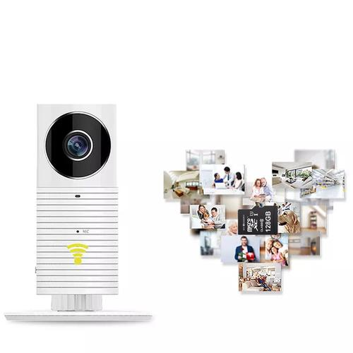 Clever Dog Panorama 180 Degree View HD WiFi Smart Camera - White