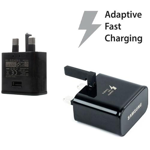 Samsung Galaxy 2A Mains Fast Charger + 1M Micro USB Cable - Black