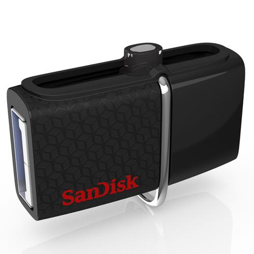 SanDisk 256GB Ultra Dual USB 3.0 Drive - Black
