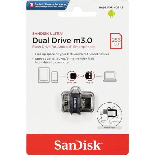 SanDisk 256GB Ultra Dual M3.0 USB Drive