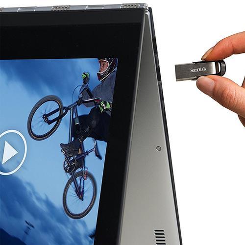 SanDisk 256GB Ultra Flair USB 3.0 Flash Drive - 150Mb/s - Dark