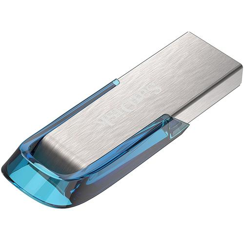 SanDisk 32GB Ultra Flair USB 3.0 Flash Drive 150MB/s - Tropical Blue