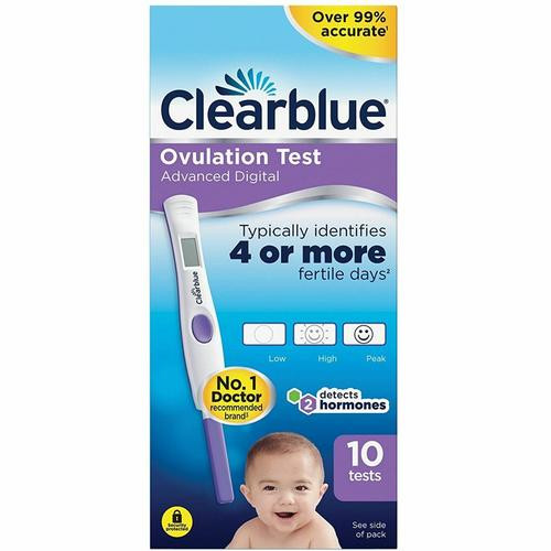 Clearblue Advanced Digital Ovulation Test - 10 Tests