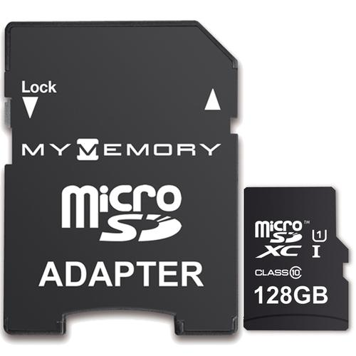 sd karte 128gb MyMemory 128GB Micro SD Karte (SDXC) UHS I U1 + Adapter   90MB/s