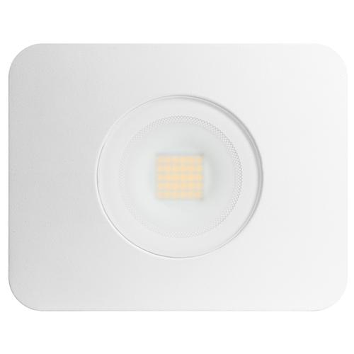 Integral Compact-Tough LED Floodlight IP65 30W (130W) 4000K (Cool White) Gen II Non-Dimmable Lamp - White