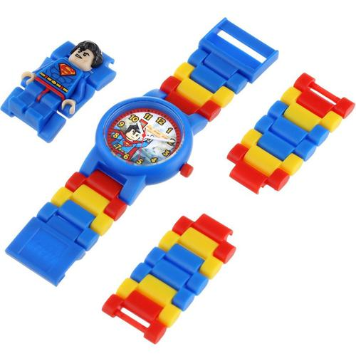 LEGO DC Universe Super Heroes Superman Minifigure Link Watch
