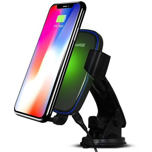 PowerZ 7.5W Wireless In Car Charging Phone Holder