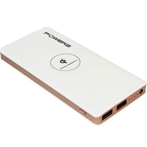 PowerZ 2A Wireless Power Bank 10000mAh - Weiß