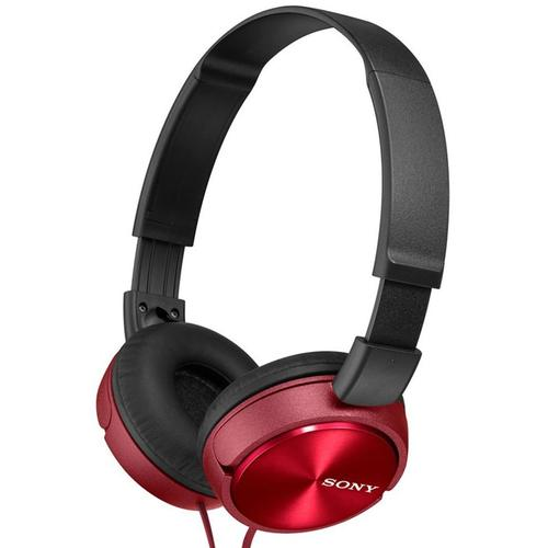 91bc0c2ac35 Sony MDR-ZX310 Foldable Headphones - Metallic Red £16.99 - Free Delivery |  MyMemory