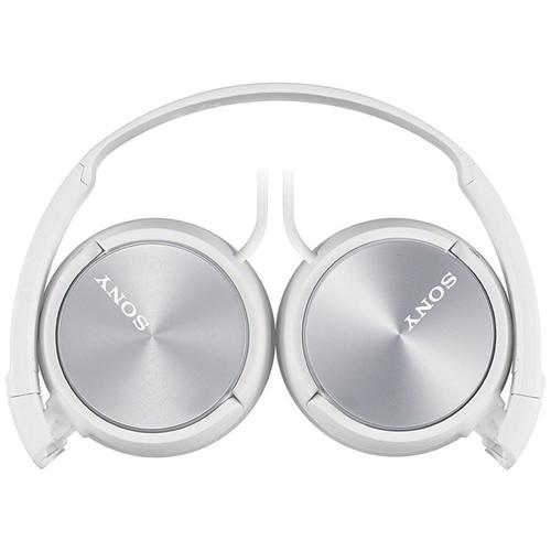 Sony MDR-ZX310 Foldable Headphones - Metallic White
